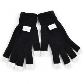 Yiwu Luminous Colorful LED Light Glove / Sarung Tangan LED - Black - 3