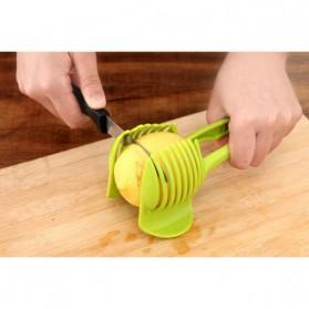 Plastic Tomato Slicer / Pemotong Tomat - Green
