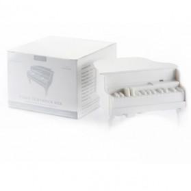 Continental Automatic Toothpick Box Creative Piano /  Tempat Tusuk Gigi - White