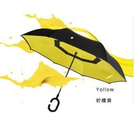 Payung Terbalik Gagang C - Black - 6
