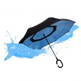 Payung Terbalik Gagang C - Black - 12