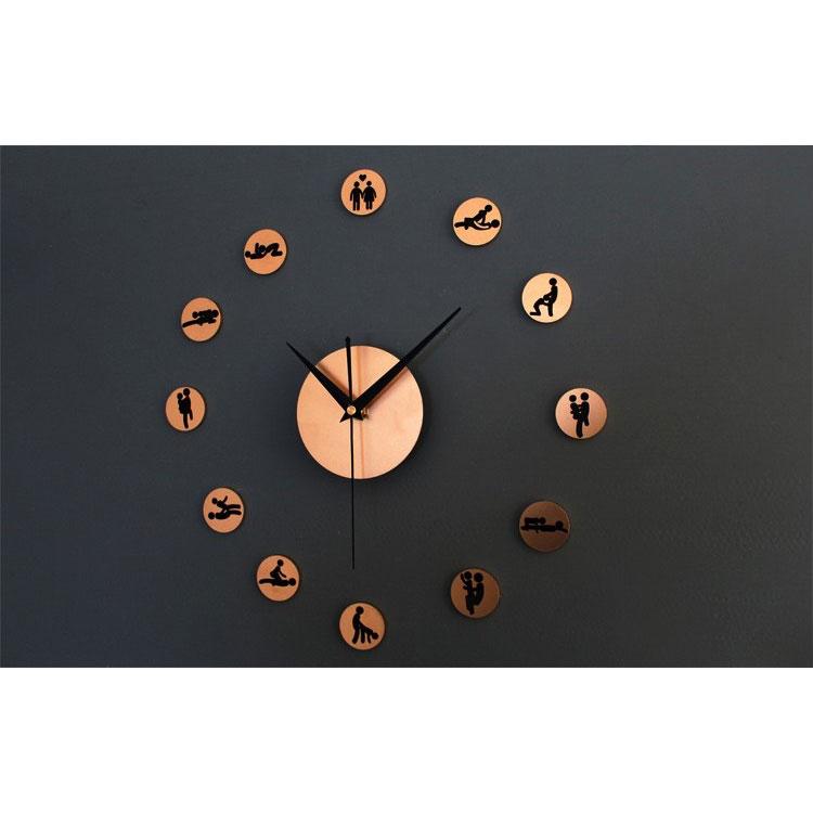 ... DIY Giant Wall Clock 30-60cm Diameter - ELET00664   Jam Dinding - Golden  ... e8830f11d2