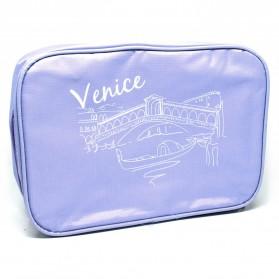 Dundes Tas Travel Bag in Bag Organizer Multifungsi - Purple