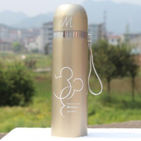 Thermos Mickey Mouse 500ml - Golden