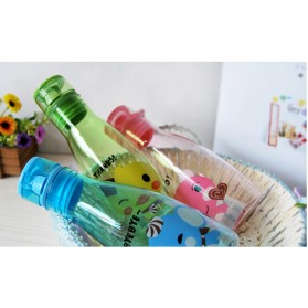 Botol Minum Motif Kartun Lucu - Pink - 4