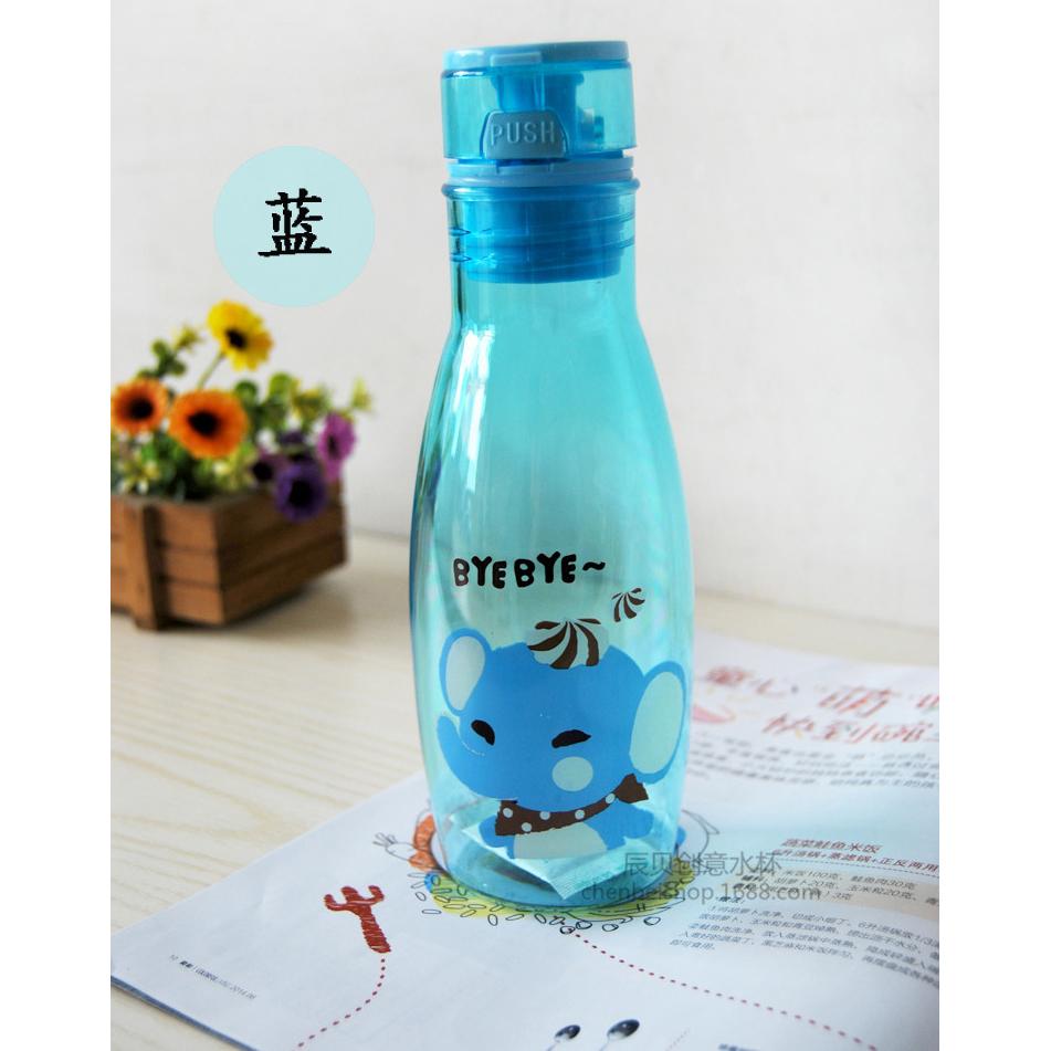 Botol Minum Motif Kartun Lucu Blue