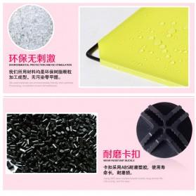Lemari Baju Plastik DIY 3 Pintu - Multi-Color - 4