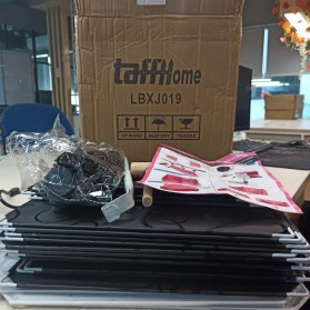 TaffHOME Lemari Baju Plastik DIY 6 Pintu - LBXJ019 - Black - 7