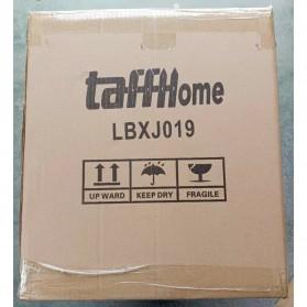 TaffHOME Lemari Baju Plastik DIY 6 Pintu - LBXJ019 - Black - 8