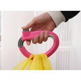 Gantungan Plastik Belanja Dengan Sistem Pengunci - Multi-Color - 7