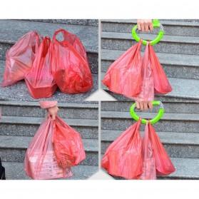 Gantungan Plastik Belanja Dengan Sistem Pengunci - Multi-Color - 8