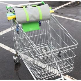 Supermarket Trolley Organizer Shopping Bag 4 Pcs / Keranjang Belanja - Multi-Color - 2