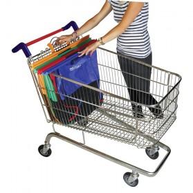 Supermarket Trolley Organizer Shopping Bag 4 Pcs / Keranjang Belanja - Multi-Color - 7