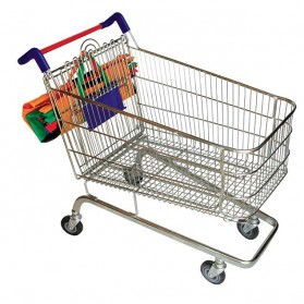 Supermarket Trolley Organizer Bag Shopping Bag / Keranjang Belanja - Multi-Color - 8