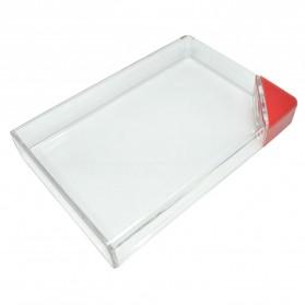 MemoBottle Slim A5 Letter Reusable Water Bottles 450ml / Botol Minum - Red - 2