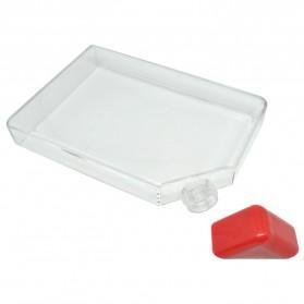 MemoBottle Slim A5 Letter Reusable Water Bottles 450ml / Botol Minum - Red - 3