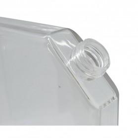 MemoBottle Slim A5 Letter Reusable Water Bottles 450ml / Botol Minum - Red - 4