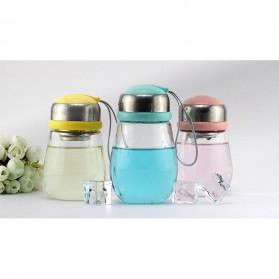 Botol Minum Penguin Case Silikon - 400ml - Blue - 3
