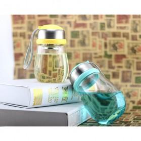 Botol Minum Penguin Case Silikon - 400ml - Blue - 4