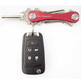 Keysmart Swiss Army Style Keychain Organizer and Holders - L Size - Black - 4