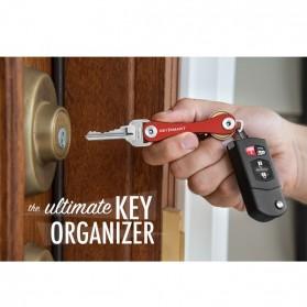 Keysmart Swiss Army Style Keychain Organizer and Holders - L Size - Black - 10