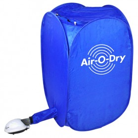 Air O-Dry Portable Electric Clothes Dryer - Blue