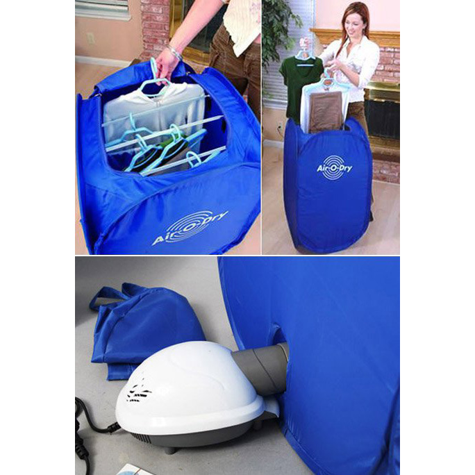 Blue Clothes Dryer ~ Air o dry portable electric clothes dryer blue