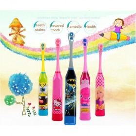 Sikat Gigi Elektrik Anak-Anak - H417 - Multi-Color - 15
