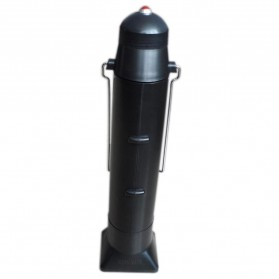 Solar Thermos Camping Hiking Kettle 500ml - Black - 2