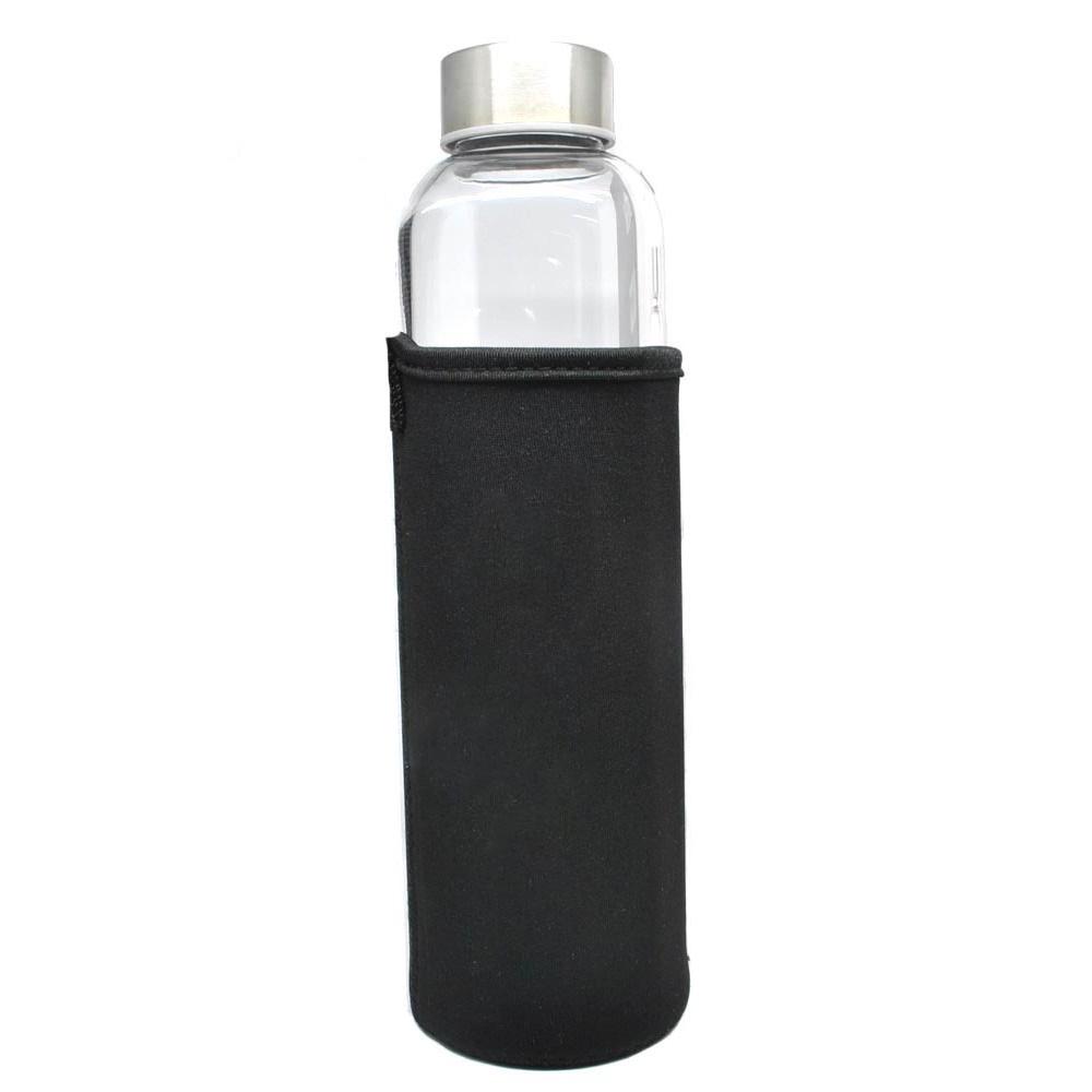 Botol Minum Kaca Transparan 550ml Black Jakartanotebook Com
