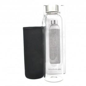 Botol Minum Kaca Transparan 550ml - 031 - Multi-Color - 3