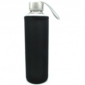 Botol Minum Kaca Transparan 550ml - 031 - Multi-Color - 4