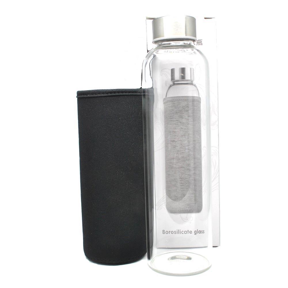 Botol Minum Kaca Transparan 550ml Multi Color My Bottle Warna  3