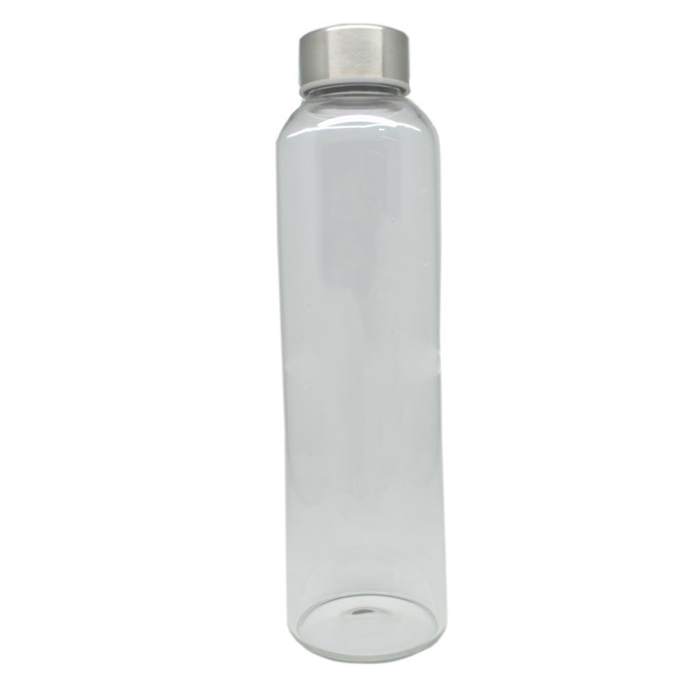 Botol Minum Kaca Transparan 550ml Multi Color Minuman Anak 6