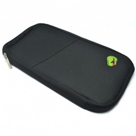 Travelus Dompet Kartu Travel - 404 - Black - 1