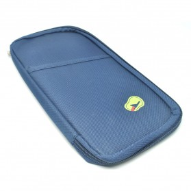 Dompet Kartu Travel - Navy Blue