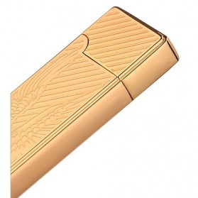 JINLUN Korek Elektrik Aluminium USB Cigarette Lighter Coil - JL882 - Golden - 5