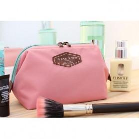 Un Jour De Reve Tas Kosmetik Travel Portabel - Pink