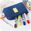 Organizer Pengepakan - Tas Travel Polyester Mesh Size L - Blue