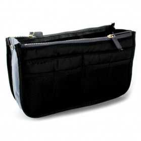 Tas Travel Bag in Bag Organizer - SN002 - Black