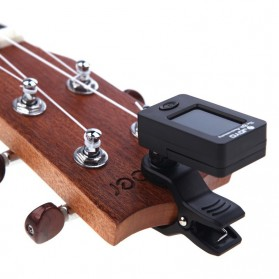 JOYO Tuner Gitar Rotatable 360 Degree - JT-01 - Black