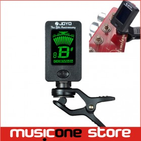 JOYO Tuner Gitar Rotatable 360 Degree - JT-01 - Black - 6