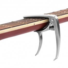 SLOZZ Capo Gitar Chord Acoustic Standart Aluminium Alloy - M556 - Black - 7