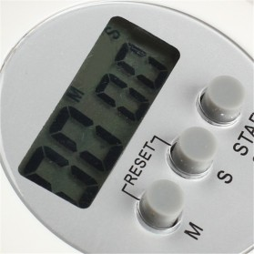Timer Masak Dapur 5 Color Digital Alarm Minimalis Time Machine - WA150 - White - 2