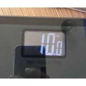 Taffware Digipounds Timbangan Badan Kaca Elektronik 180KG - SC-05 - Pink - 3