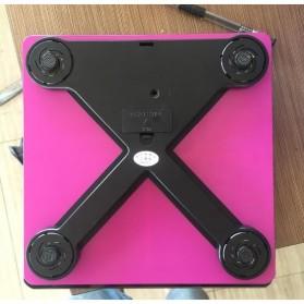 Taffware Digipounds Timbangan Badan Kaca Elektronik 180KG - SC-05 - Pink - 4