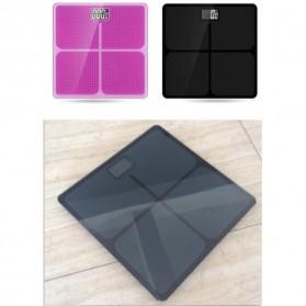 Taffware Digipounds Timbangan Badan Kaca Elektronik 180KG - SC-05 - Pink - 5