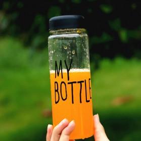 Botol Minum Plastik Bening Juice Lemon My Bottle 500ml - Pink - 3