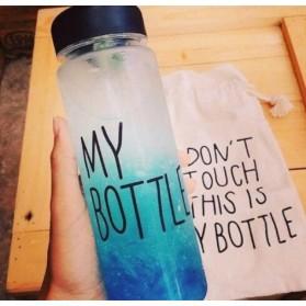 Botol Minum Plastik Bening Juice Lemon My Bottle 500ml - Pink - 5