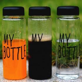 Botol Minum Plastik Bening Juice Lemon My Bottle 500ml - Pink - 6